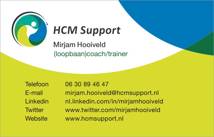 HCM Support loopbaancoach trainer Mirjam Hooiveld